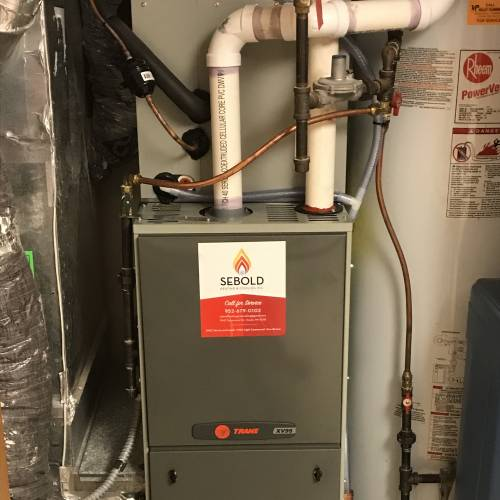 New Furnace and Air Conditoner Install in Chanhassen MN