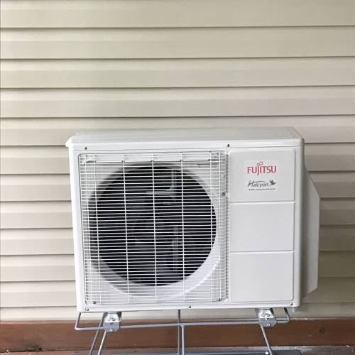 New Install of a Fujitsu Mini Split System in Eden Prairie MN