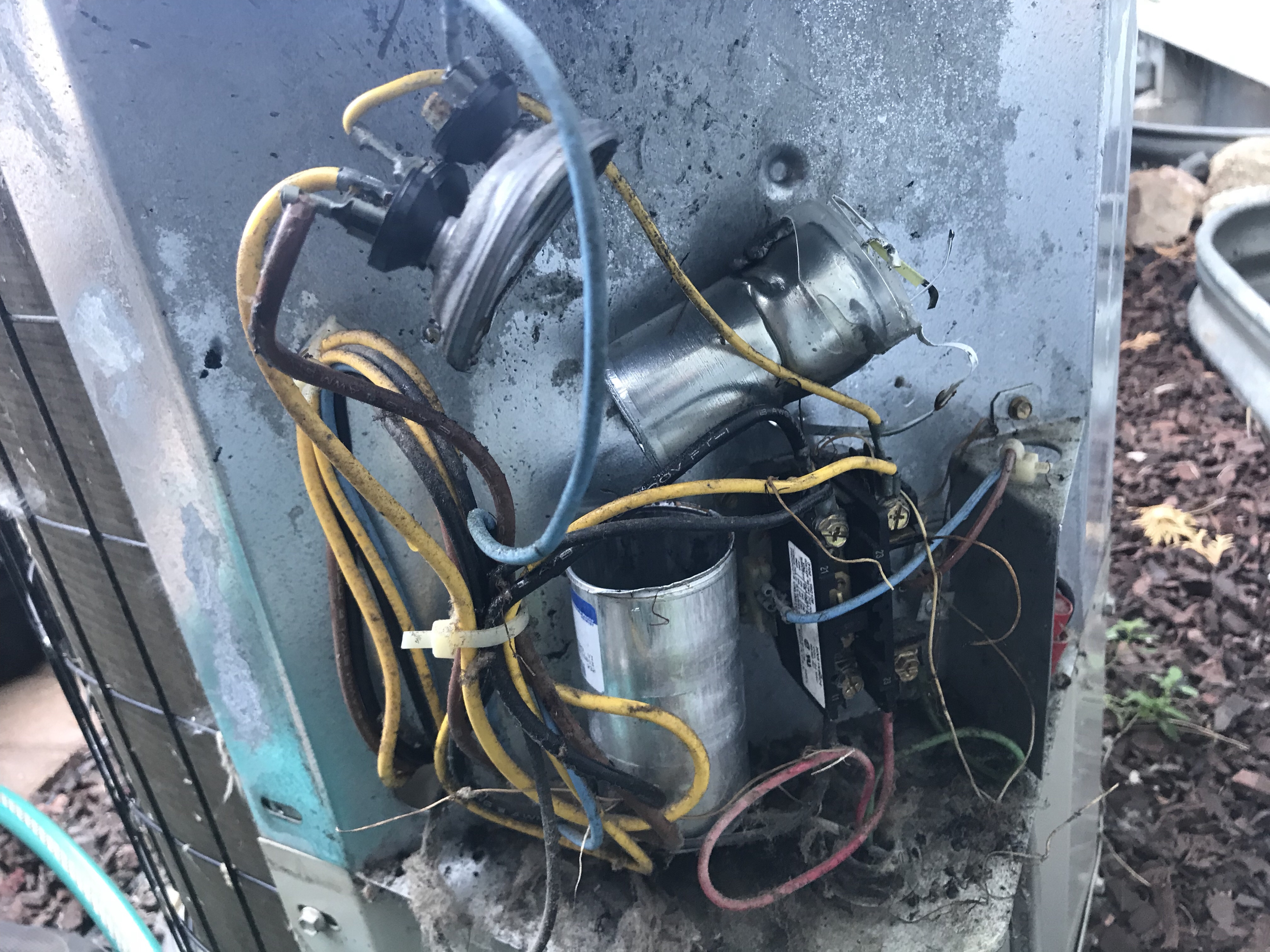 Capacitor that exploded